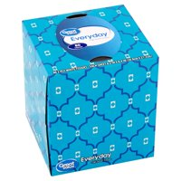 Great Value Everyday Soft Facial Tissues, 80 Count