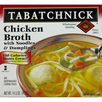 Tabatchnick Chicken Broth with Noodles & Dumplings