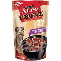 Purina ALPO Made in USA Facilities Dog Treats, TBonz Filet Mignon Flavor