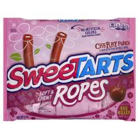 Sweet Tarts Candy, Cherry Punch, Ropes