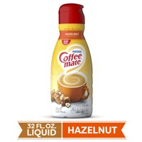 COFFEE MATE Hazelnut Liquid Coffee Creamer 32 Fl. Oz. Bottle Non-dairy Lactose Free Creamer
