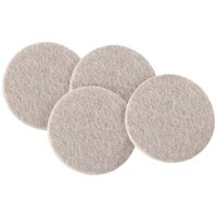 Soft Touch 3' Round Felt Pads, Oatmeal