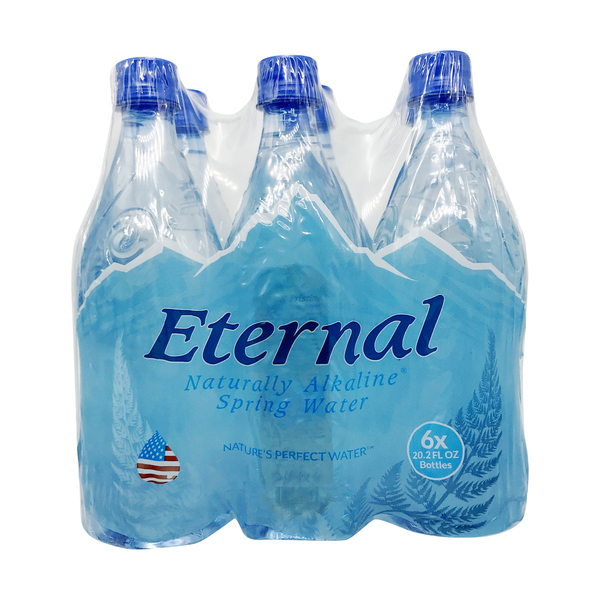 Eternal Naturally Alkaline Spring Water (6 Pk)