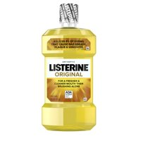 Listerine Original Antiseptic Oral Care Mouthwash, 1 L