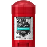 Old Spice Hardest Working Collection Anti-Perspirant Deodorant for Men Pure Sport Plus