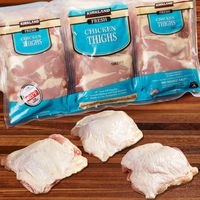 Kirkland Signature Fresh Chicken Thighs
