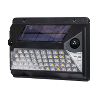 Hyper Tough 1000 Lumen LED Motion Activated Solar Path Light, Wall Mounting