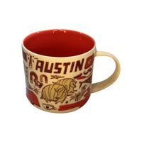 Starbucks 14-Ounce FY18 Austin Bean There Series Mug