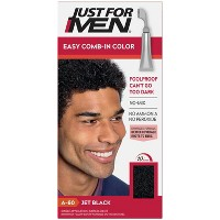 Just For Men Easy Comb-In Color Gray Hair Coloring for Men with Comb Applicator