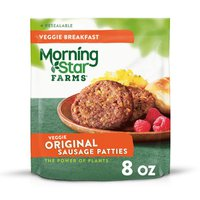 Morning Star Farms Veggie Breakfast Sausage Patties Original