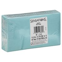 Sensations Napkins, Spa Blue, 2 Ply