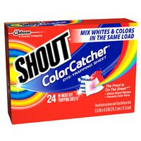 Shout Dye-Trapping Sheet, Color Catcher