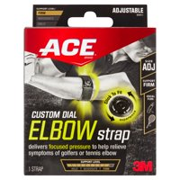 3M ACE Adjustable Custom Dial Elbow Strap