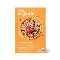 Organic Honey Nut Hoops 12.25oz - Good & Gather™