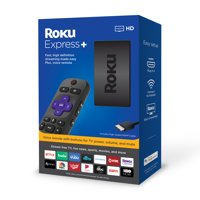 Roku Express+ HD Streaming Media Player 2019