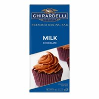 Ghirardelli Milk Chocolate Baking Bar, 4 oz