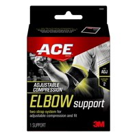 ACE Adjustable Elbow Support, Black/Gray, 1/pack