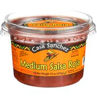 Casa Sanchez Salsa, Roja,  Medium