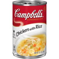 Campbell'sCondensed Chicken with Rice Soup, 10.5 oz. Can