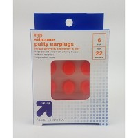 Kids' Silicone Putty Earplugs - 6 pair - Up&Up™