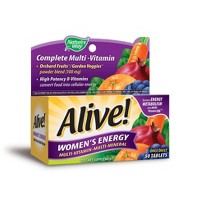 Nature's Way Alive! Women's Energy Multivitamin Tablets - 50ct