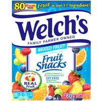 Welch's Fruit Snacks Variety, 80 ct