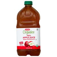 H-e-b Organics 100% Apple Juice From Concentrate