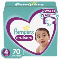 Pampers Cruisers Active Fit Diapers, Size 4, 70 Ct