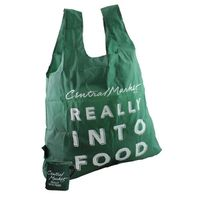Central Market Green Folding Bag