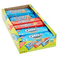Nabisco Chips Ahoy! Nutter Butter, & Oreo Variety Cookie Pack, 23.4 Oz., 12 Count