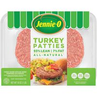 Jennie-O With Natural Flavoring Lean Turkey Burger