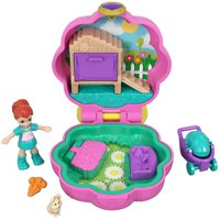 Polly Pocket Tiny Pocket Places Lila Pet Compact with Doll