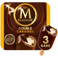 Magnum Double Caramel Ice Cream Bars 3 Bars
