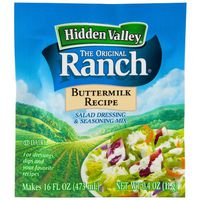 Hidden Valley Buttermilk Ranch Salad Dressing & Seasoning Mix