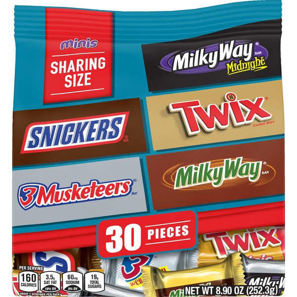 Mars Chocolate, Favorites Minis Size Candy Bars Assorted Variety Mix