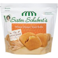 Sister Schubert's Wheat Dinner Yeast Rolls, 10 ct, 15 oz
