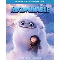 Abominable (Blu-ray + DVD + Digital Copy)
