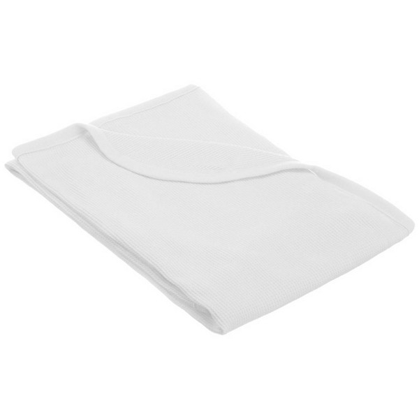 TL Care 100% Natural Cotton Thermal/Waffle Swaddle Blanket White