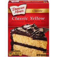 Duncan Hines Cake Mix, Classic Yellow, Perfectly Moist