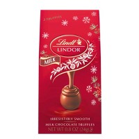 Lindt Holiday Milk Chocolate Mini Bag - 0.8oz
