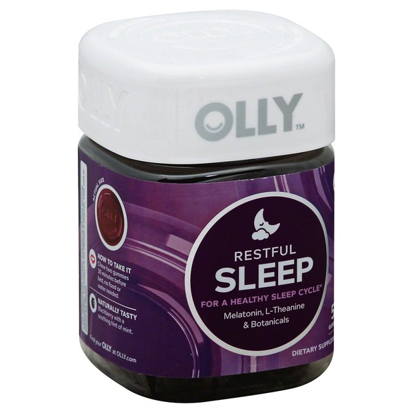Olly Dietary Supplement Restful Sleep From H E B In Austin Tx