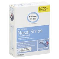 Signature Care Small Medium Nasal Strips