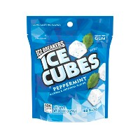 Ice Breakers Ice Cubes Peppermint Sugar-Free Gum - 100ct