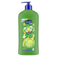 Suave Kids Silly Apple 3-in-1 Shampoo, Conditioner, & Body Wash, 18 Fl. Oz.