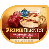 Nature's Recipe Prime Blends, Chicken and Beef Recipe, Wet Dog Food, 2.75 Ounces