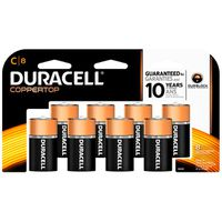 Duracell CopperTop C Alkaline Batteries, Primary Major Cells