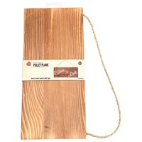 Lara's Crafts Barn Wood Plank with Twine Hanging Cord