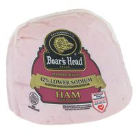 Boar's Head Branded Deluxe Ham 42% Lower Sodium