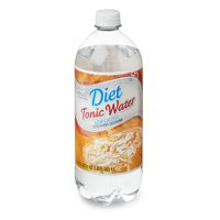 Great Value Diet Tonic Water, 33.8 fl oz