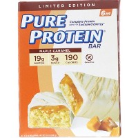 Pure Protein Bars - Maple Caramel - 6ct